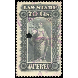 canada revenue stamp ql38 law stamps 70 1893