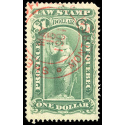 canada revenue stamp ql43 law stamps 1 1893