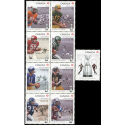 canada stamp 2567a i 100th grey cup game 2012