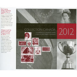 Canada complete year set 2012 mint