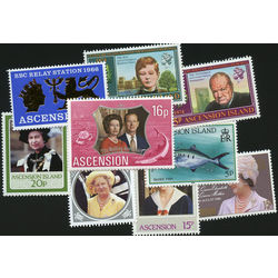 ascension island stamp packet