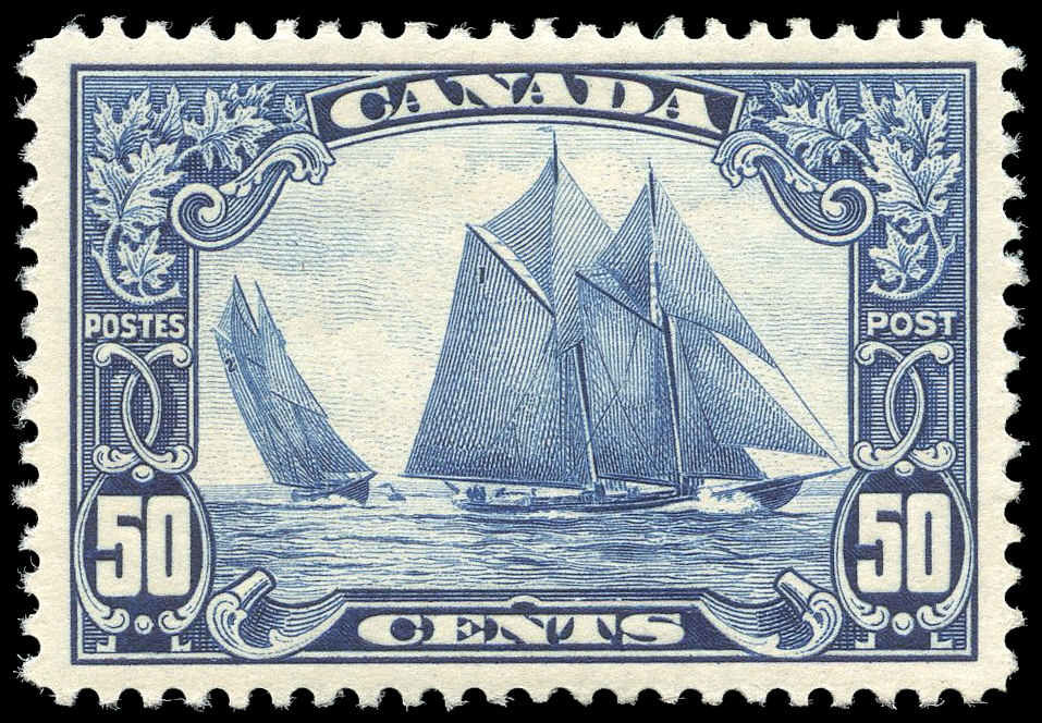 Buy Canada #158 - Bluenose (1929) 50¢ | Arpin Philately