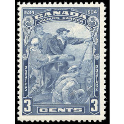 Canada stamp 208i jacques cartier 3 1934 m f 001