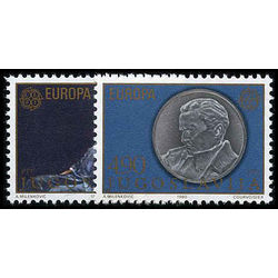 yugoslavie stamp 1467 68 europa 1980