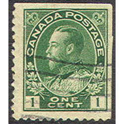 canada stamp 104as king george v 1 1913