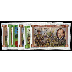 st vincent stamp 731 6 world war i 1984