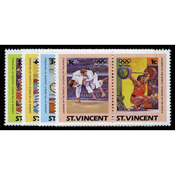 st vincent stamp 765 8 summer olympics 1984