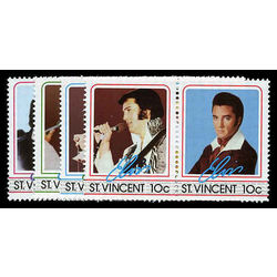 st vincent stamp 874 7 elvis 1985