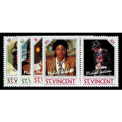 st vincent stamp 894 7 michael jackson 1985