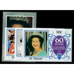 st vincent stamp 923 6 queen elizabeth ii 1986