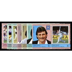 union isl of st vincent stamp 126 33 mint cricket players inc 1984