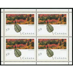 Canada stamp 1286b boreal forest 1990