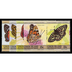 union island st vincent stamp 194 7 butterflies 1985