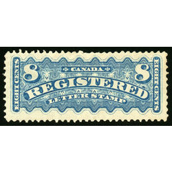 Canada stamp f registration f3 registered stamp 8 1876 m vf 004