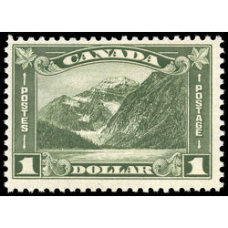 Canada stamp 177 mount edith cavell ab 1 1930 m fnh 003