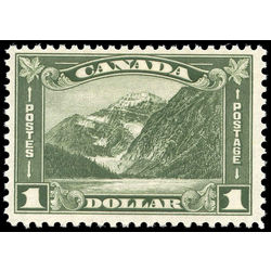 Canada stamp 177 mount edith cavell ab 1 1930 m fnh 004