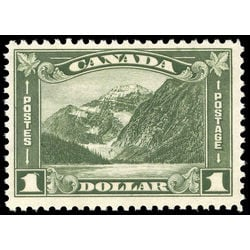 Canada stamp 177 mount edith cavell ab 1 1930 m fnh 005