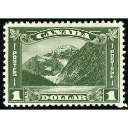 Canada stamp 177 mount edith cavell ab 1 1930 m fnh 006