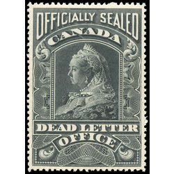 Canada stamp o official ox3 officially sealed victoria on white paper 1907 m vfnh 001