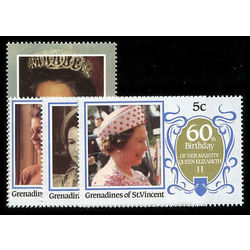 grenadines of st vincent stamp 514 7 queen mother 1986