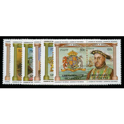 grenadines of st vincent stamp 279 84 monarchy battle 1983