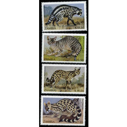 zambia stamp 519 22 animals 1990