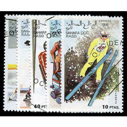 sahara stamp 3 albertville winter sports inc 1992