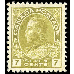 Canada stamp 113c king george v 7 1914 m vf 001