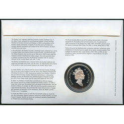 stanley cup 43 with proof silver dollar