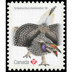 canada stamp 2930 sharp tailed grouse 2016
