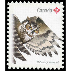 canada stamp 2931 great horned owl 2016