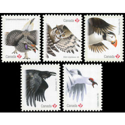 canada stamp 2930 2934 birds of canada 1 2016