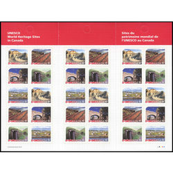 canada stamp 2968b unesco world heritage sites in canada 2017