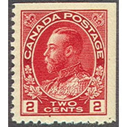 canada stamp 106as king george v 2 1911