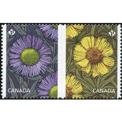 Canada stamp 2980i daisies 2017