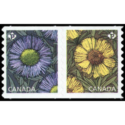 Canada stamp 2978a daisies 2017