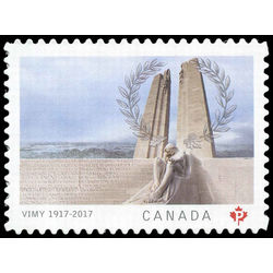 Canada stamp 2982 battle of vimy ridge 100th anniversary 2017