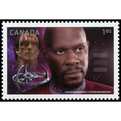canada stamp 2983d captain sisko vs dukat 1 80 2017