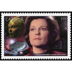 canada stamp 2983c captain janeway vs the borg queen 1 20 2017