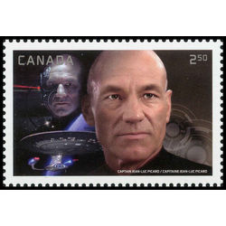 canada stamp 2983e captain picard with locutus 2 50 2017