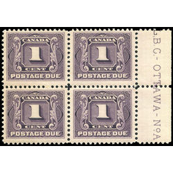 canada stamp j postage due j1 first postage due issue 1 1906 PB FNH 002