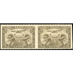 canada stamp c air mail c1b two winged figures against globe 1928