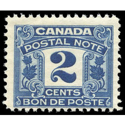 canada revenue stamp fps3 postal note scrip first issue 2 1932
