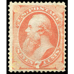 us stamp postage issues 160 stanton 7 1873 M 001