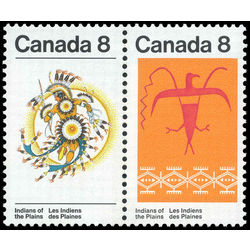 Canada stamp 565bi plains indians 1972