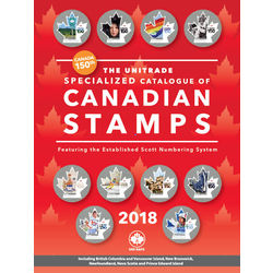 The unitrade specialized catalogue of canadian stamps 2018