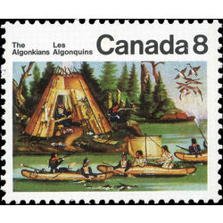 canada stamp 567ii micmac indians 8 1973
