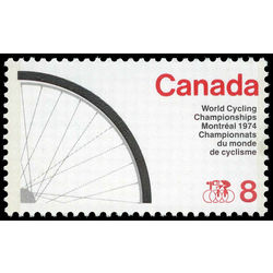 canada stamp 642ii bicycle wheel 8 1974