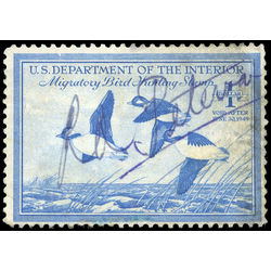 us stamp postage issues rw15 buffleheads in flight 1 1948