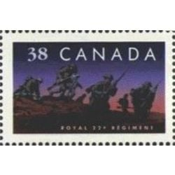 canada stamp 1250 royal 22e regiment 38 1989
